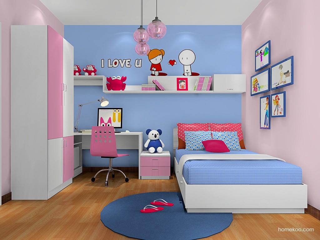 女孩的梦青少年房B17501