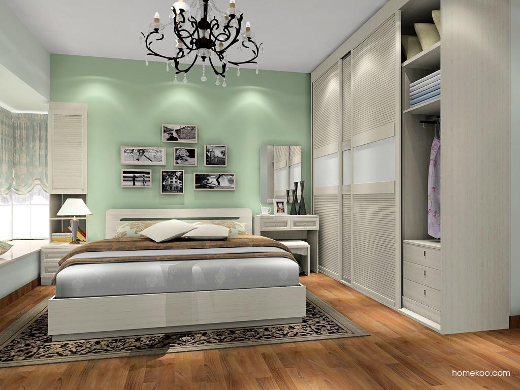 英伦印象卧房家具A17657