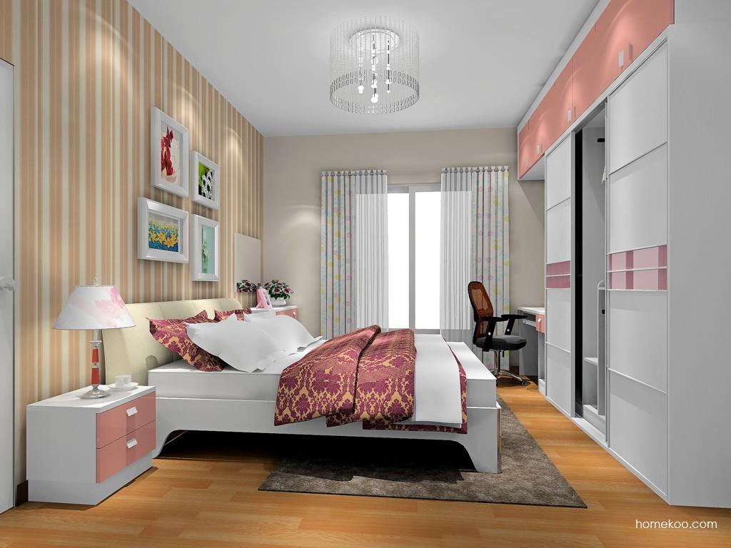 浪漫主义卧房家具A17658