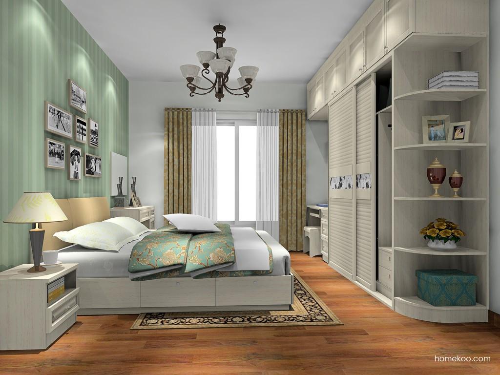 英伦印象卧房家具A17661