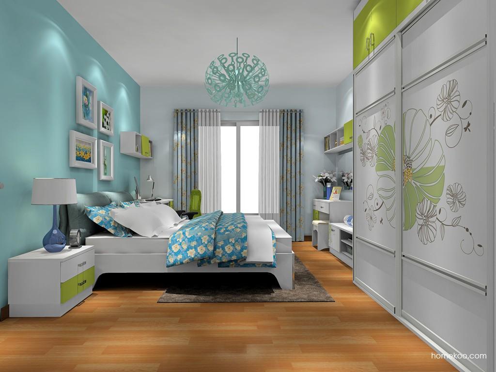 里昂春天卧房家具A17665