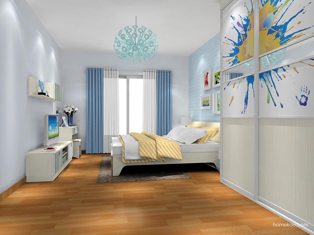 首尔之缤卧房家具A17666