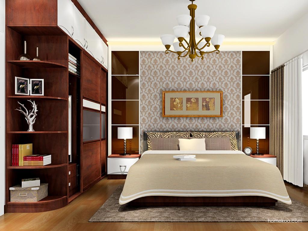 挪威月色卧房家具A17663