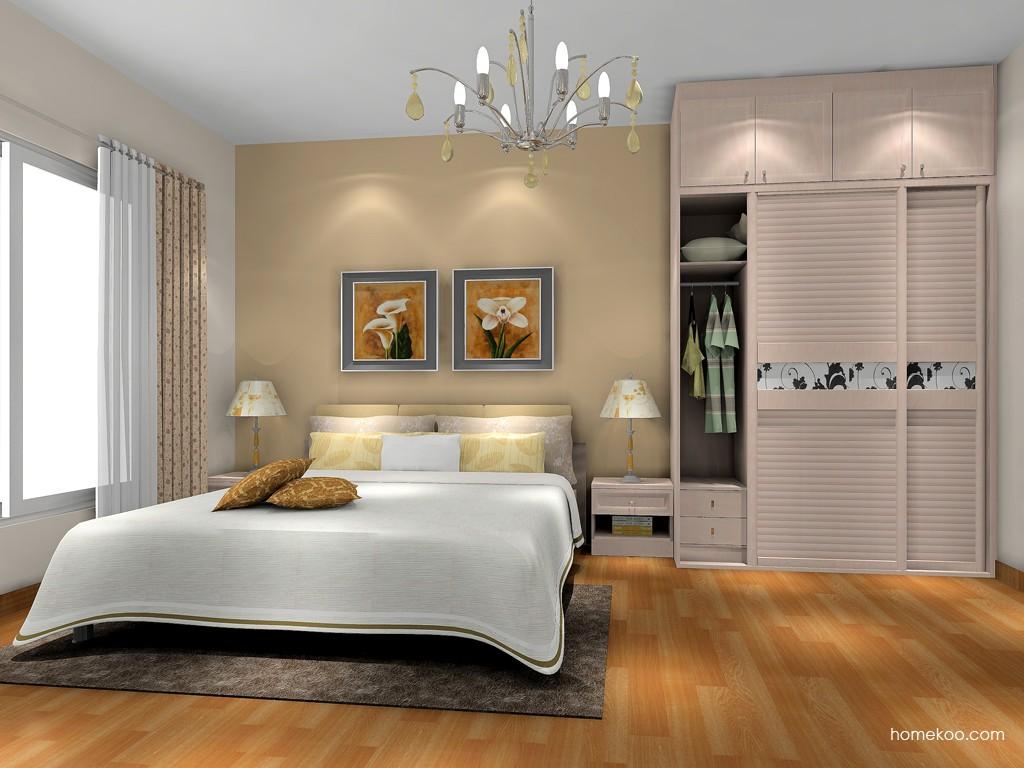 北欧阳光卧房家具A17667