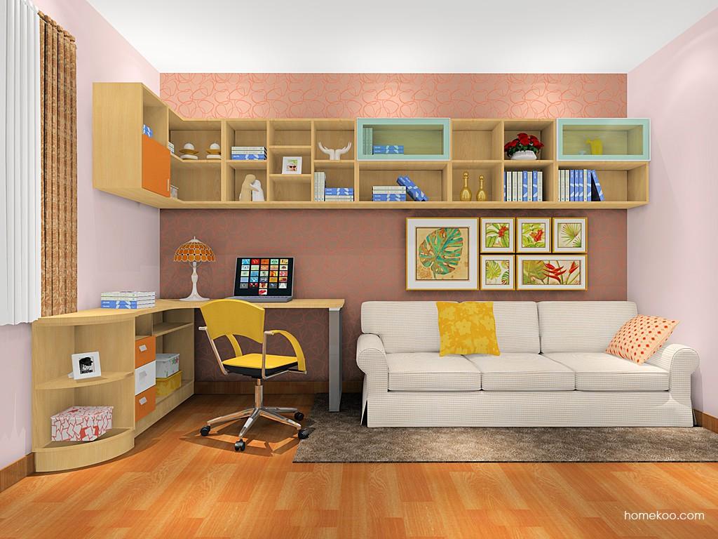 新实用主义书房家具C17791