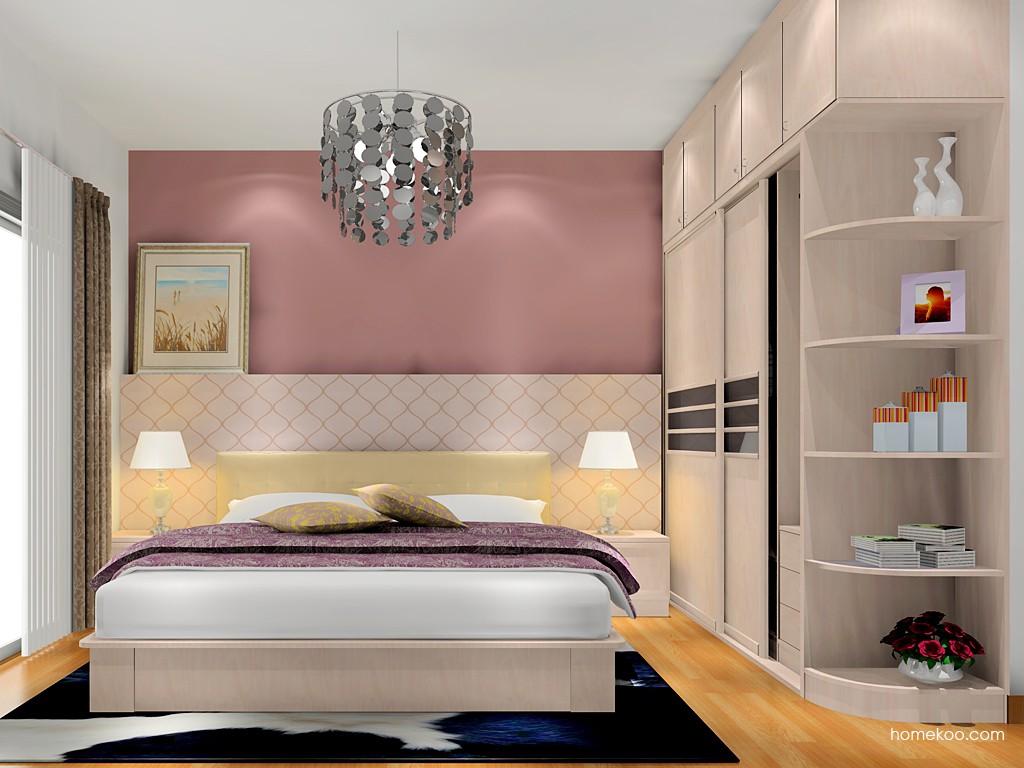 北欧阳光卧房家具A17672
