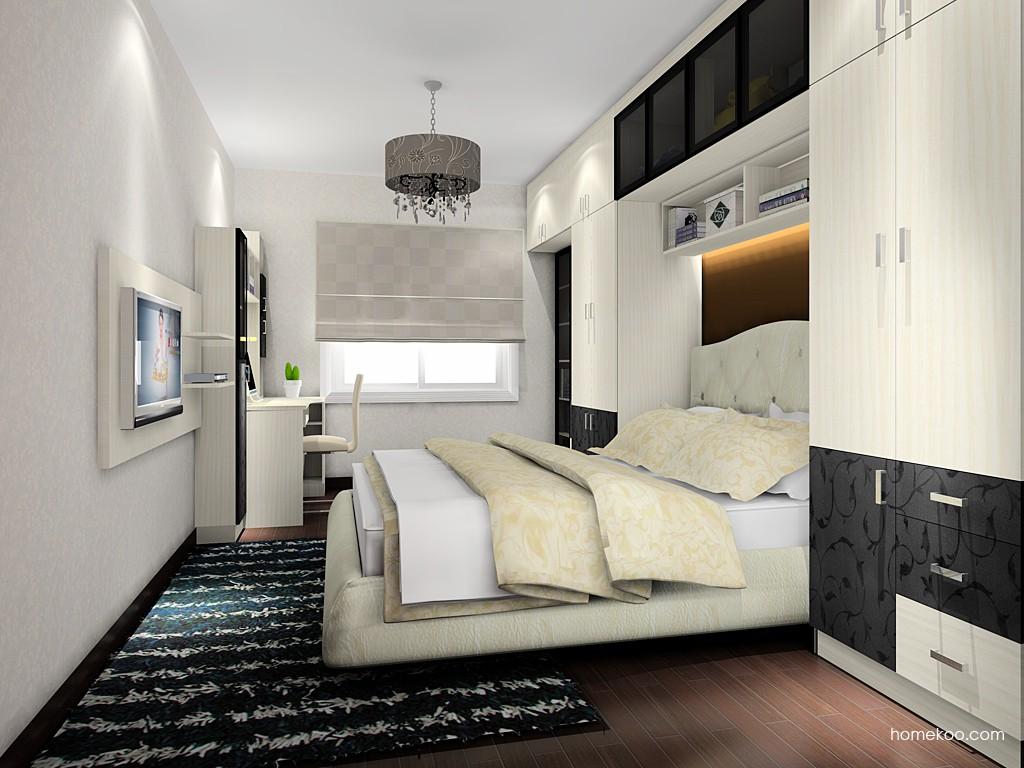 米兰剪影卧房家具A17681