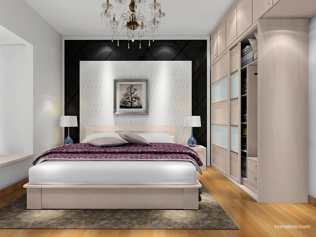 北欧阳光卧房家具A17685