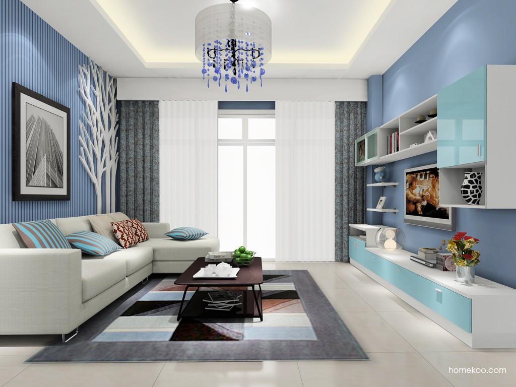 新实用主义客厅家具D16777