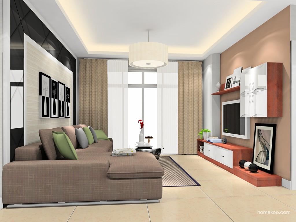 挪威月色客厅家具D16779