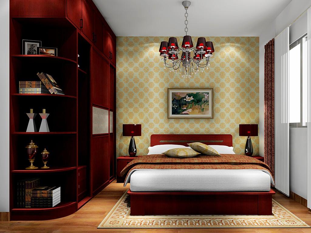 中国韵卧房家具A17710