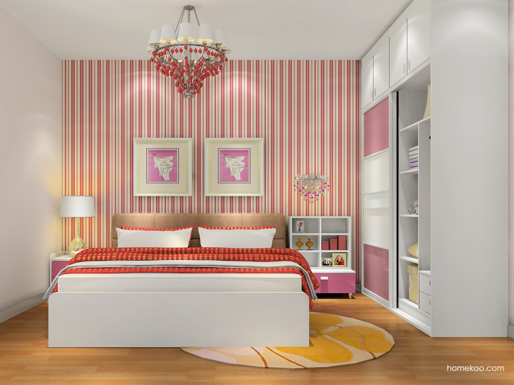 浪漫主义卧房家具A16783