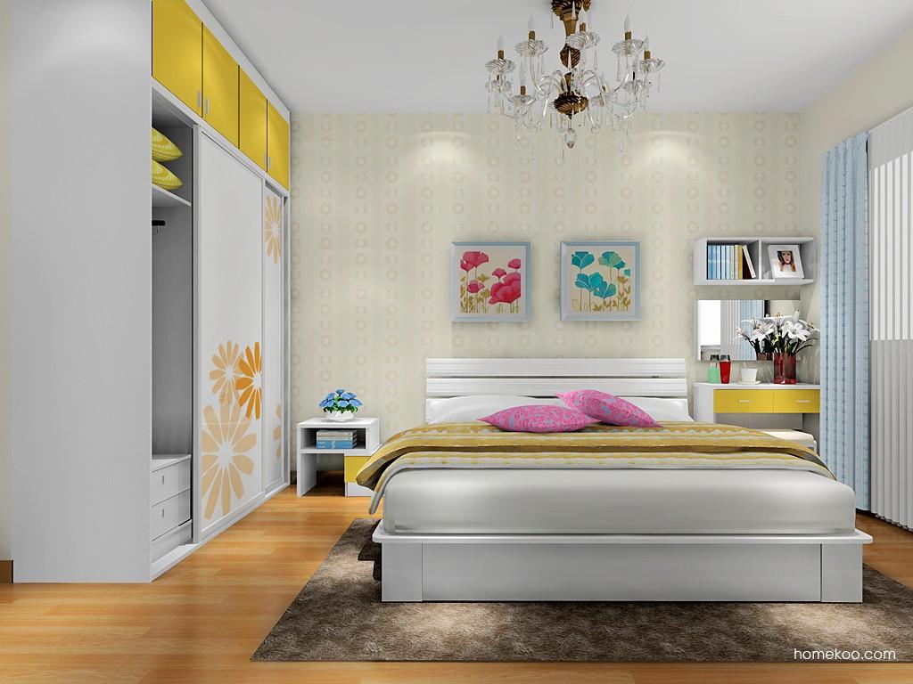 浪漫主义卧房家具A17721
