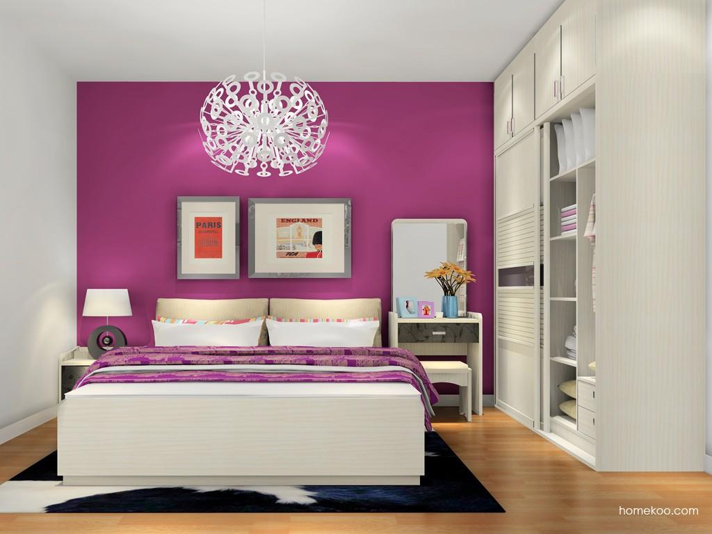 米兰剪影卧房家具A17723