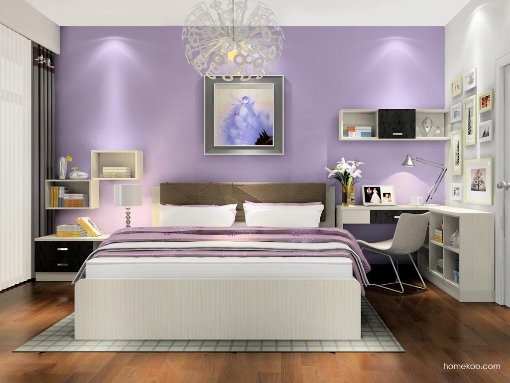 米兰剪影卧房家具A17749