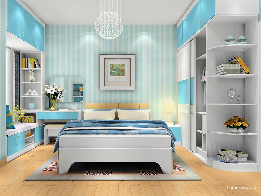 浪漫主义卧房家具A17764
