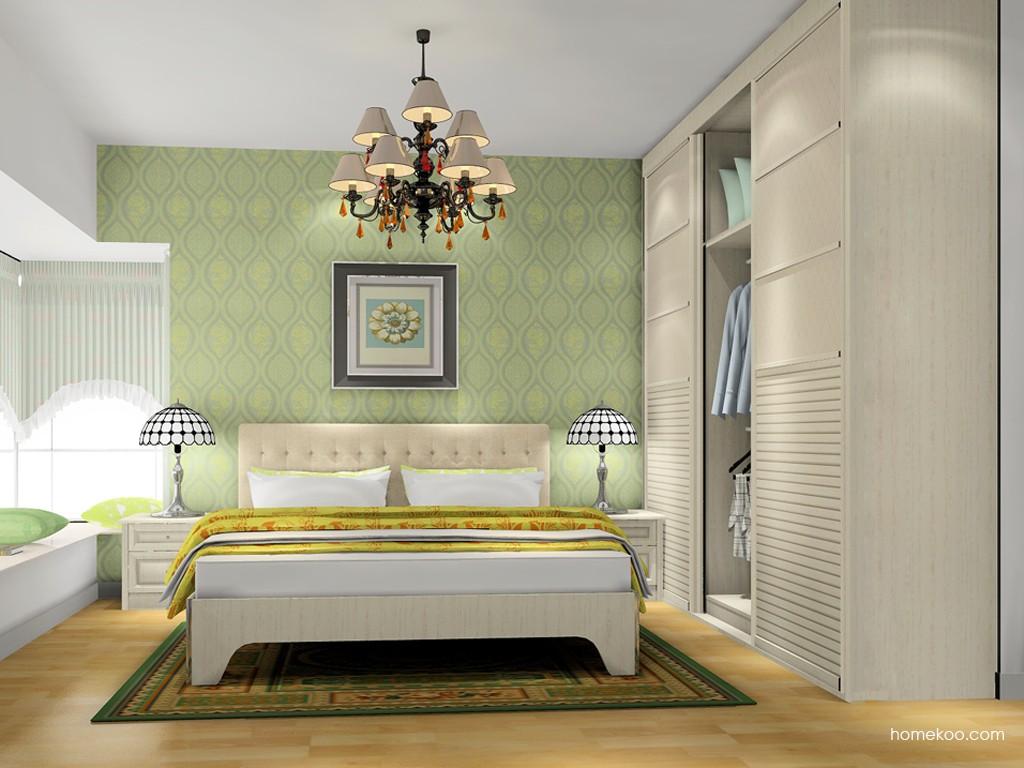 英伦印象卧房家具A17767