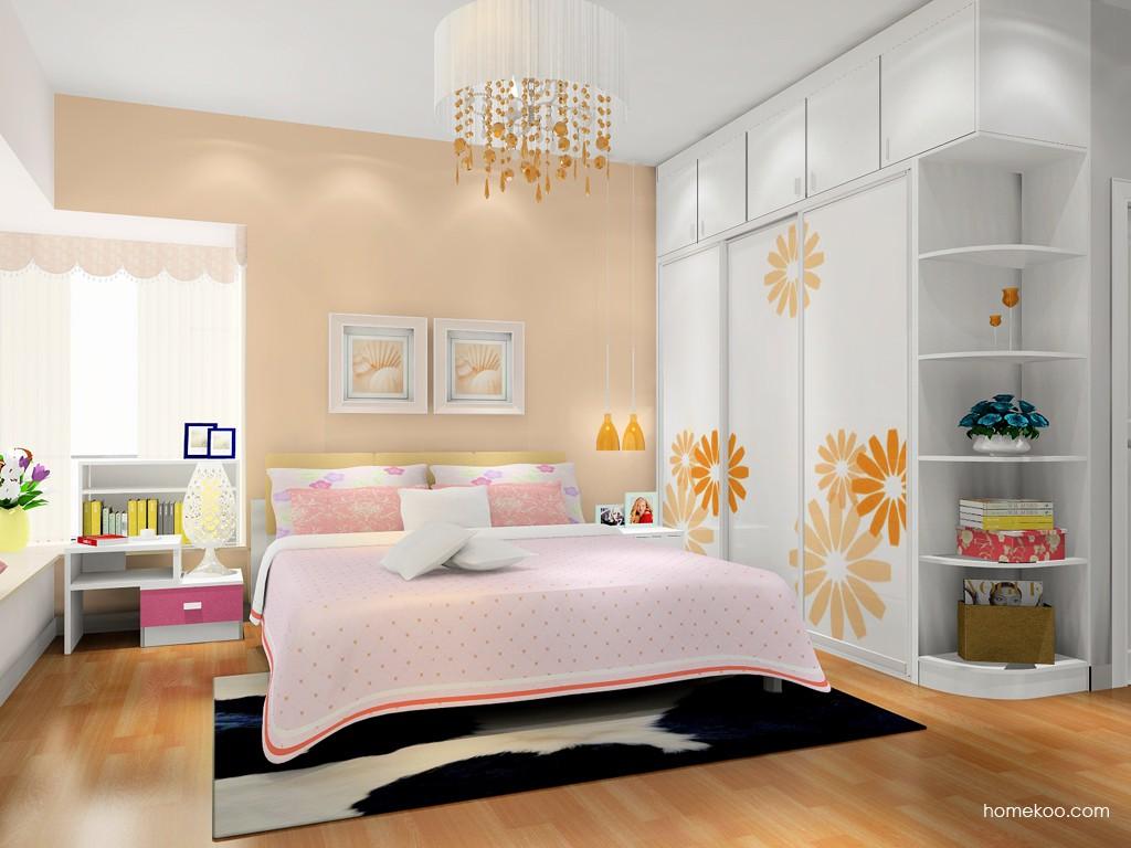 浪漫主义卧房家具A17768
