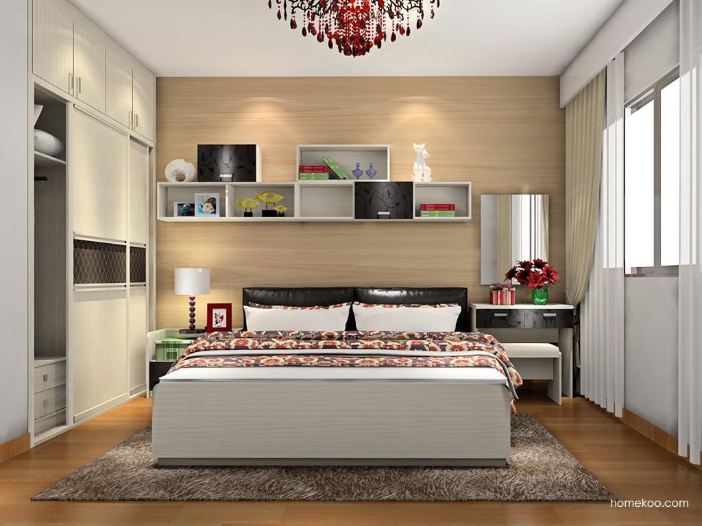 米兰剪影卧房家具A17770