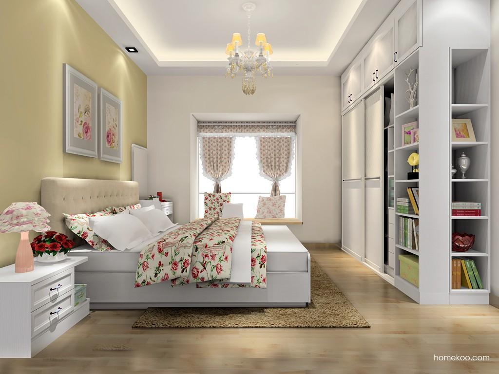 韩式田园卧房家具A16788