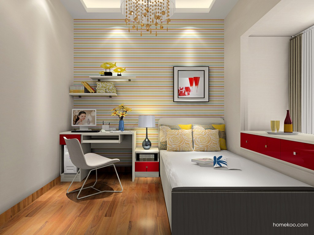 新实用主义卧房家具A17775