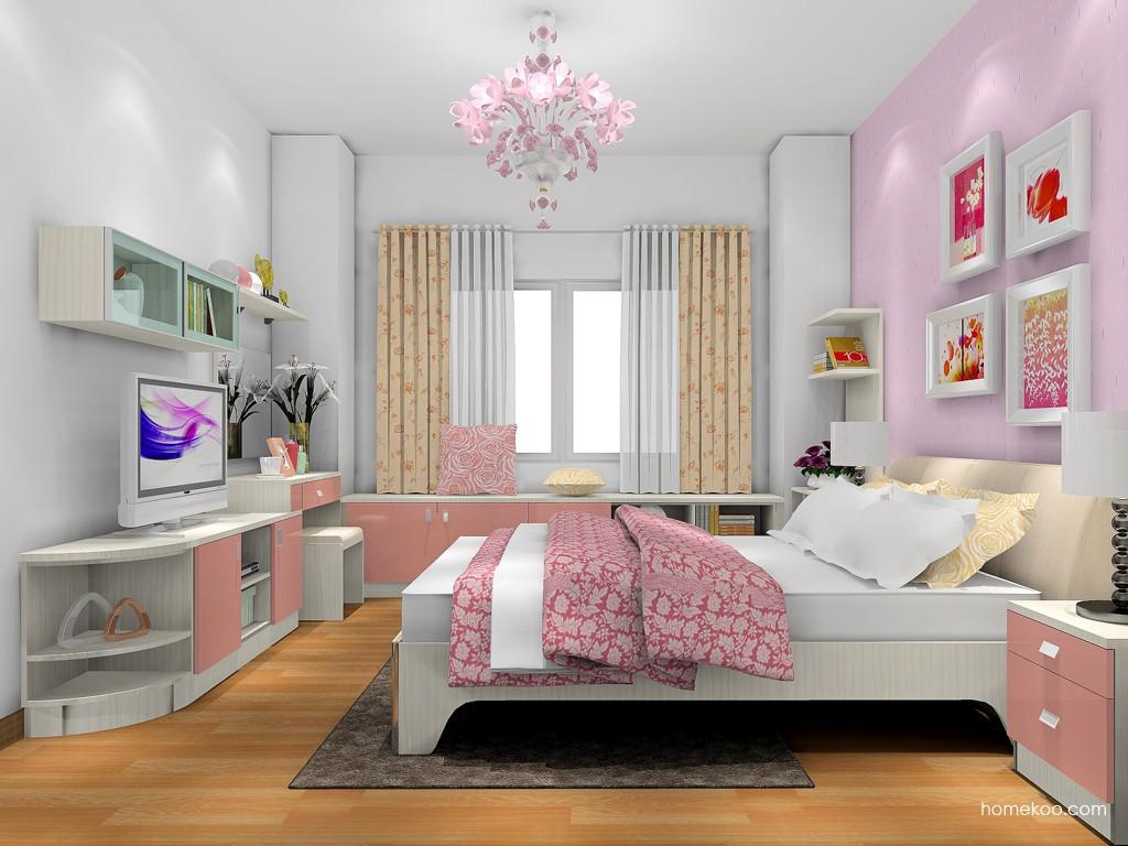 新实用主义卧房家具A17782