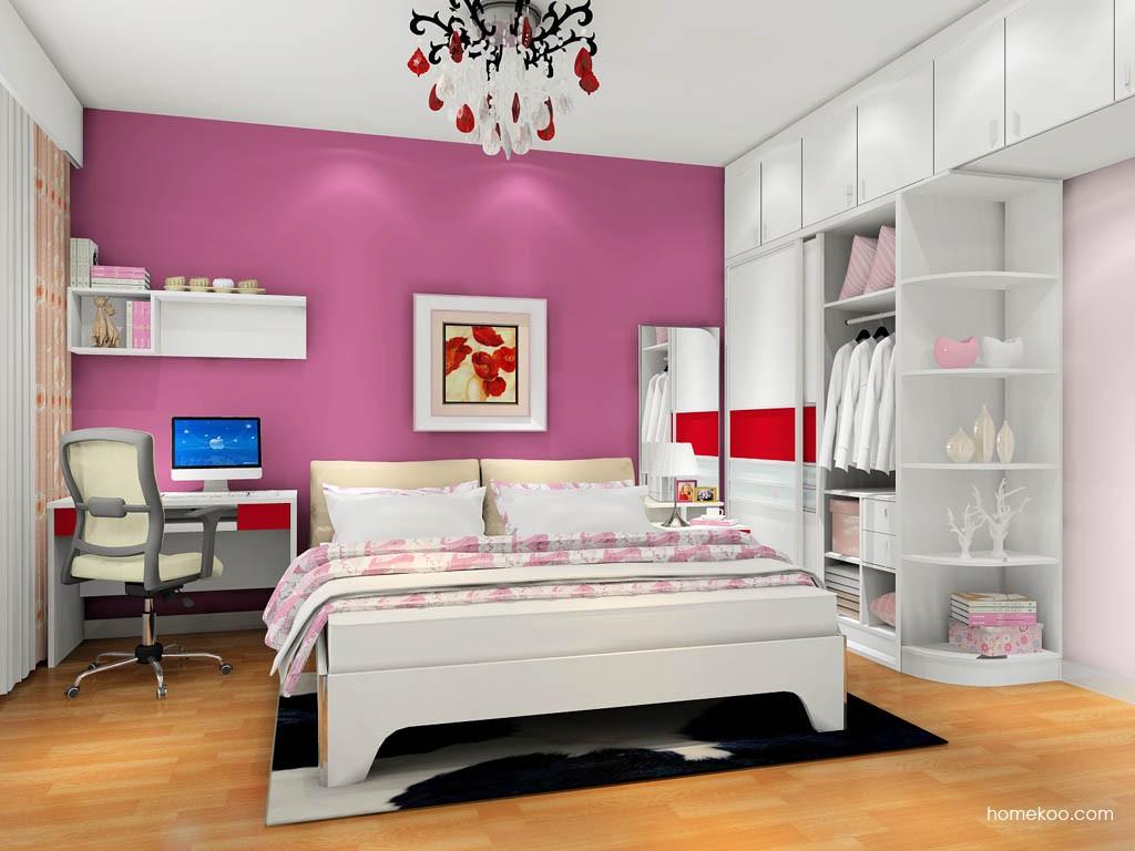 浪漫主义卧房家具A17785