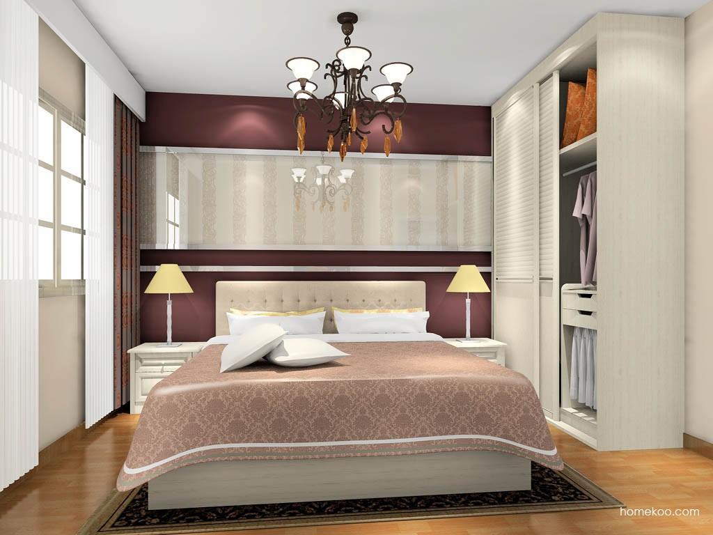英伦印象卧房家具A17787
