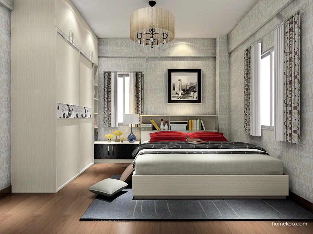 米兰剪影卧房家具A17800