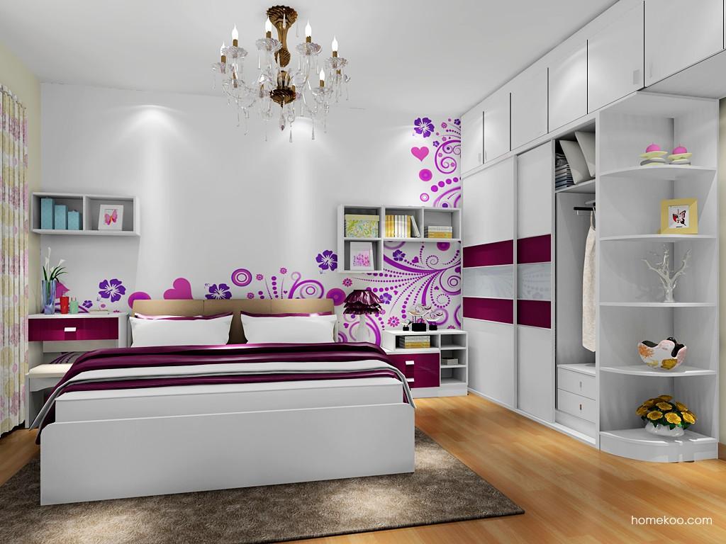 浪漫主义卧房家具A17805