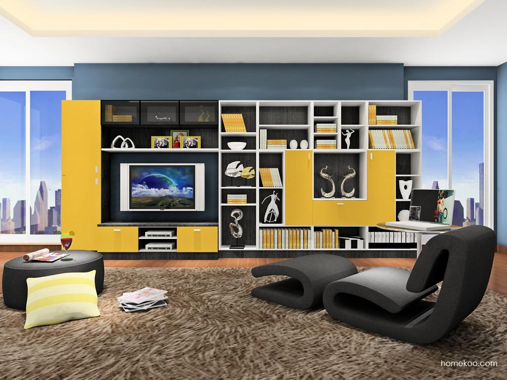新实用主义书房家具C17933