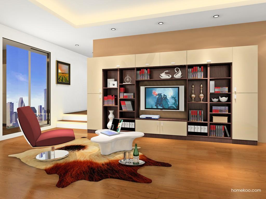 新实用主义书房家具C17935