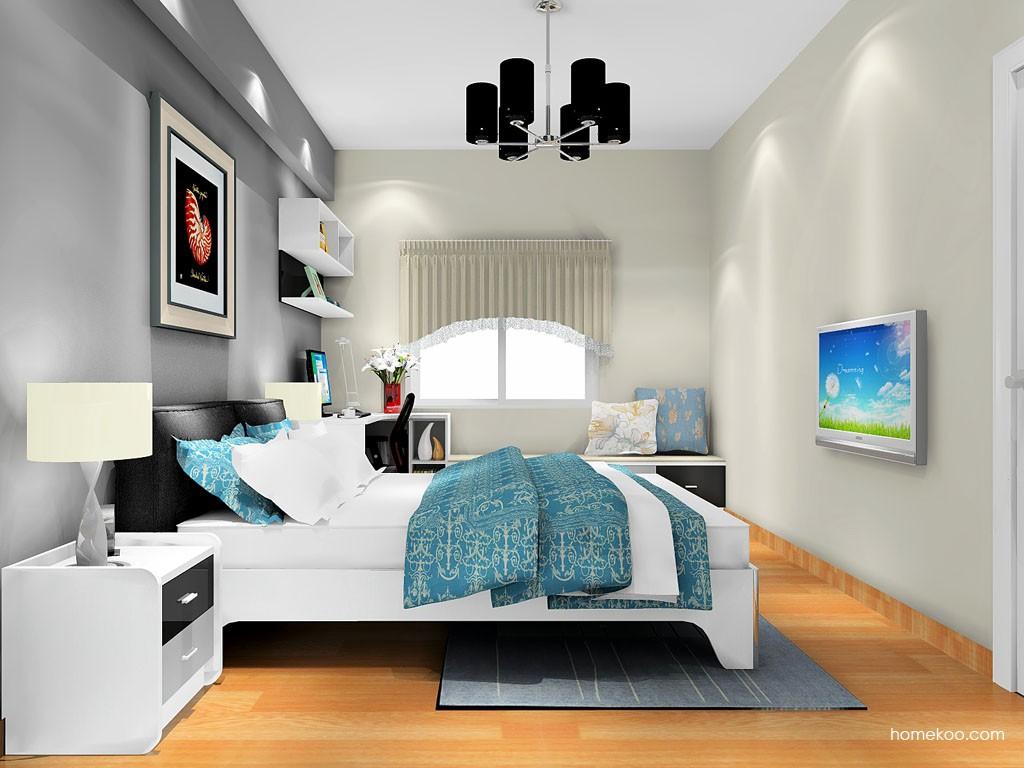 简约主义卧房家具A17816