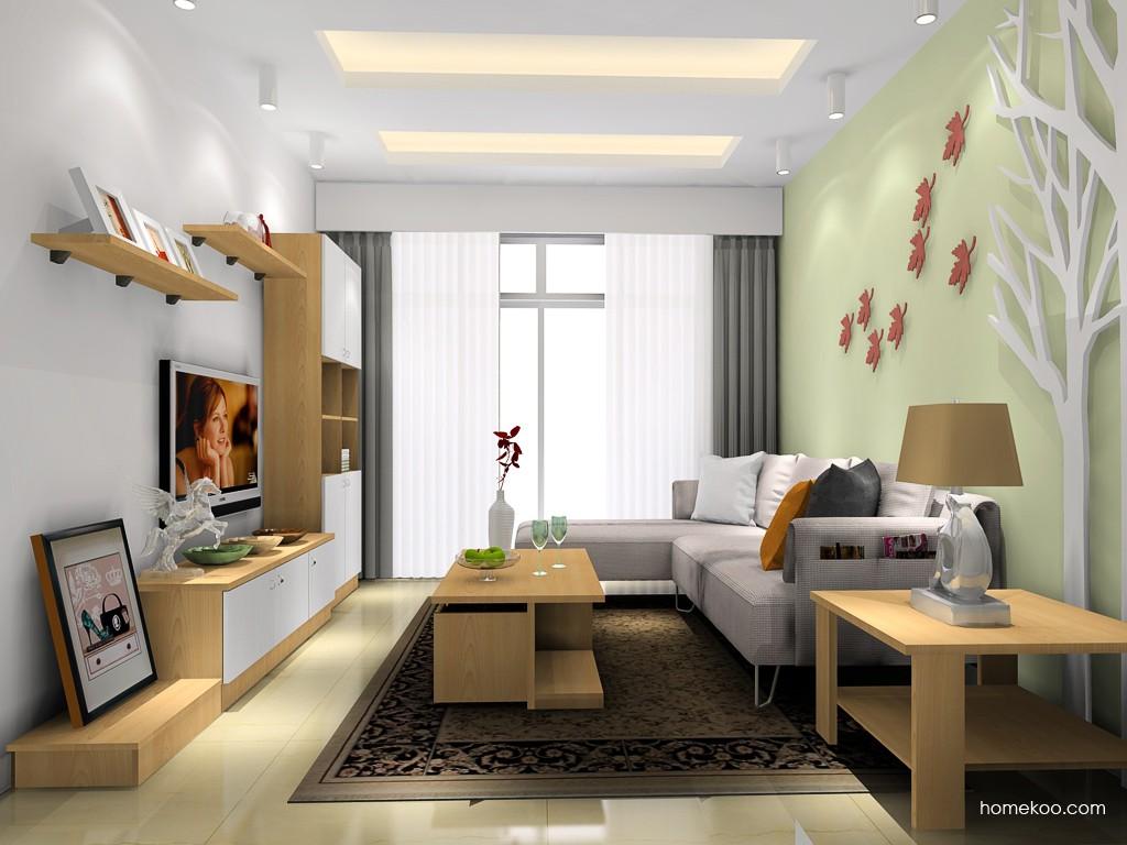 新实用主义客厅家具D16802