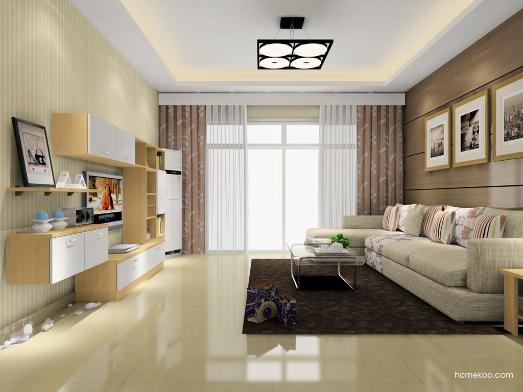 新实用主义客厅家具D16803