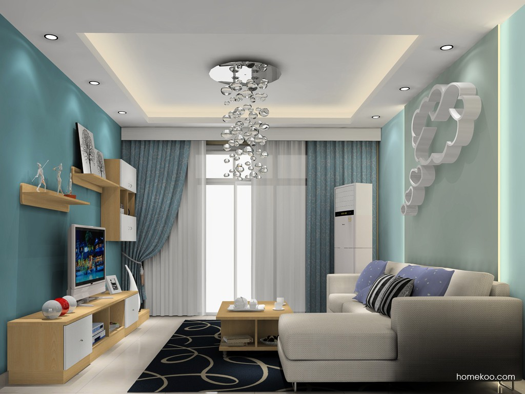 新实用主义客厅家具D16805