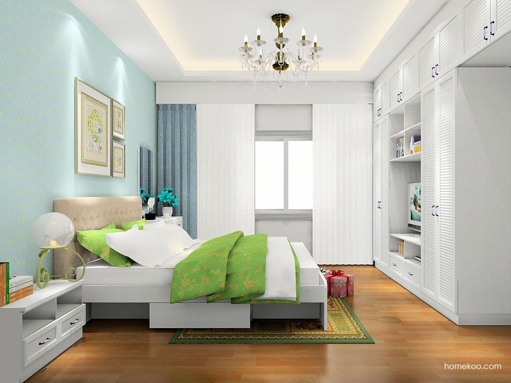 韩式田园卧房家具A17830