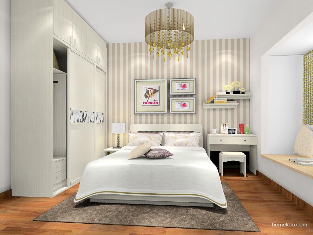 米兰剪影卧房家具A17831