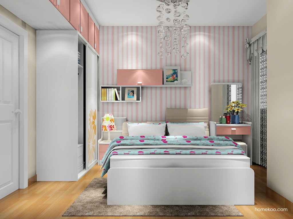 浪漫主义卧房家具A17833