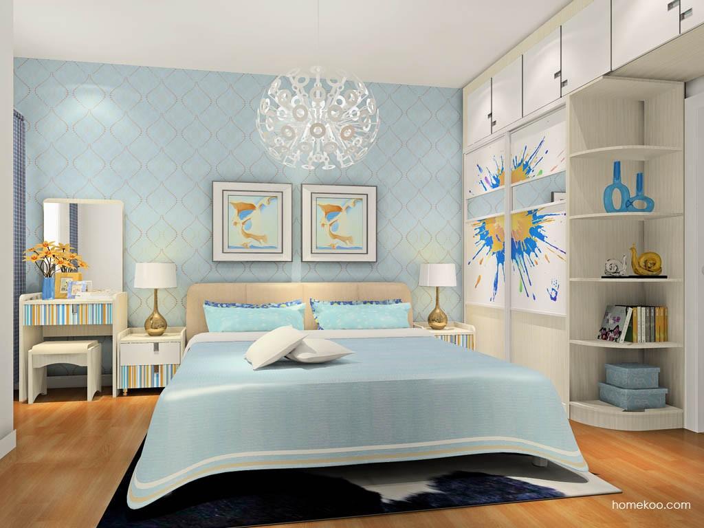 首尔之缤卧房家具A17838