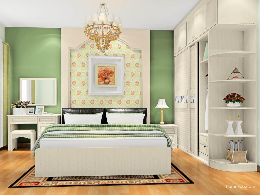 英伦印象卧房家具A17839