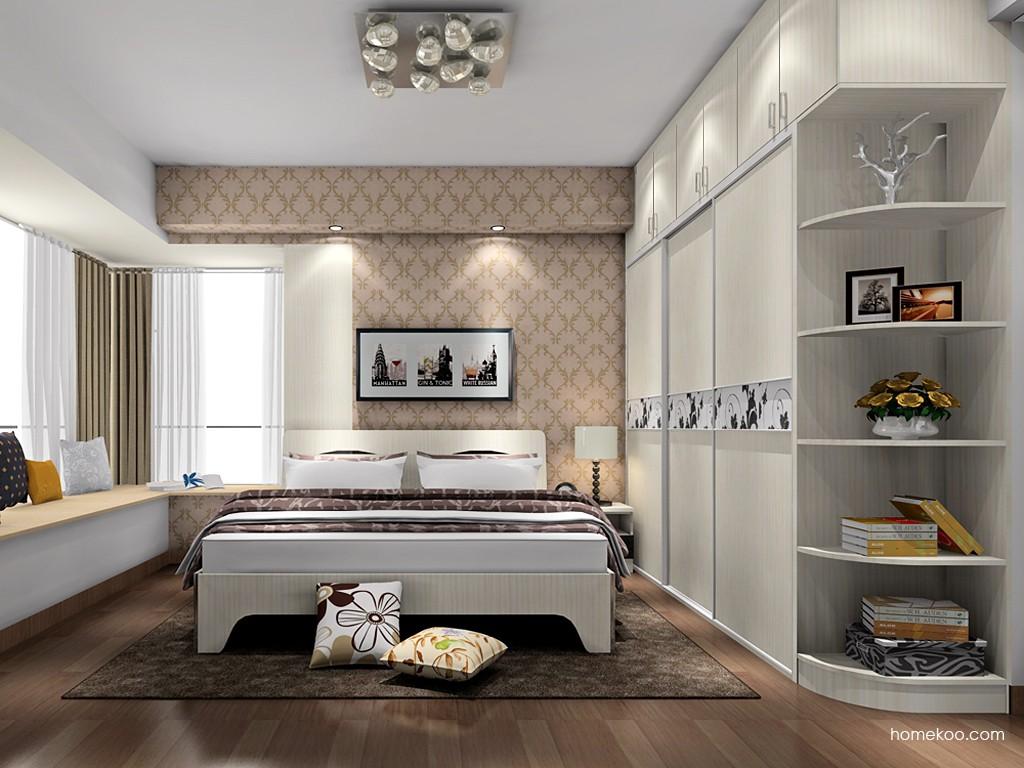 米兰剪影卧房家具A17840