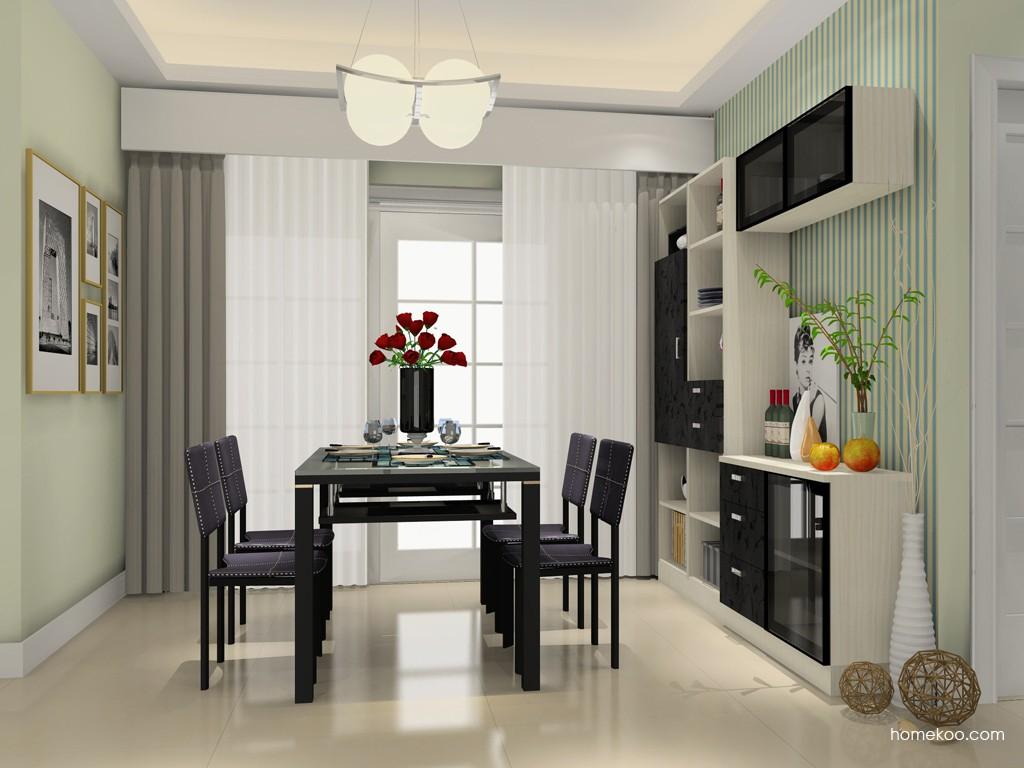 米兰剪影餐厅家具E16793