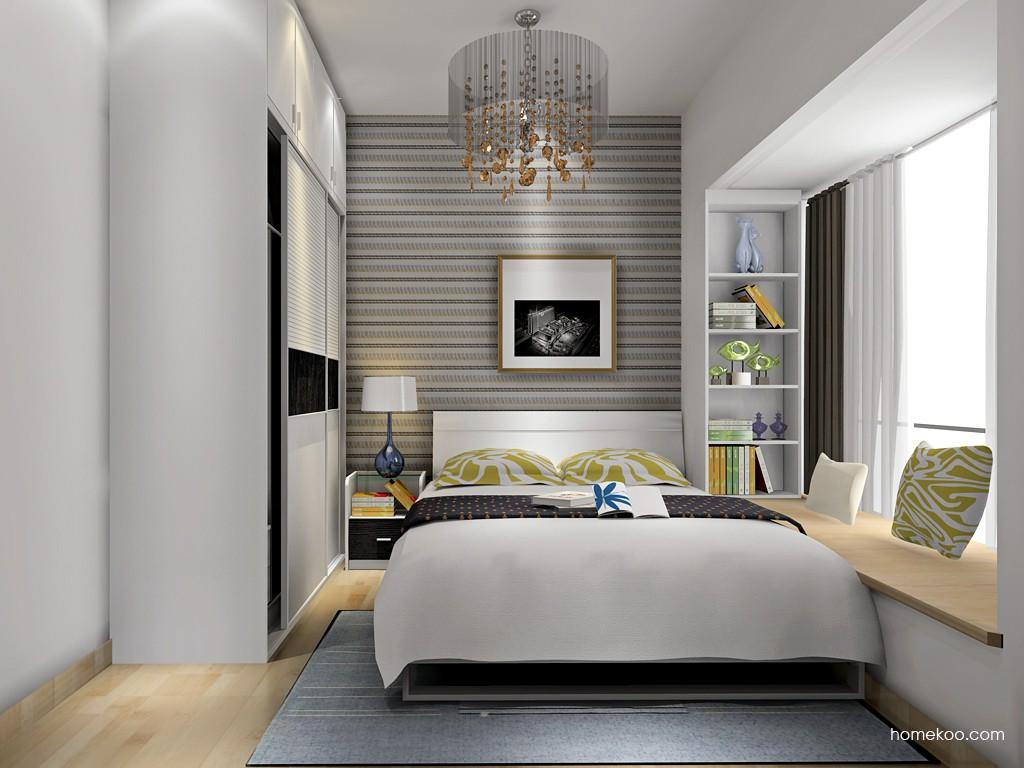 简约主义卧房家具A17841
