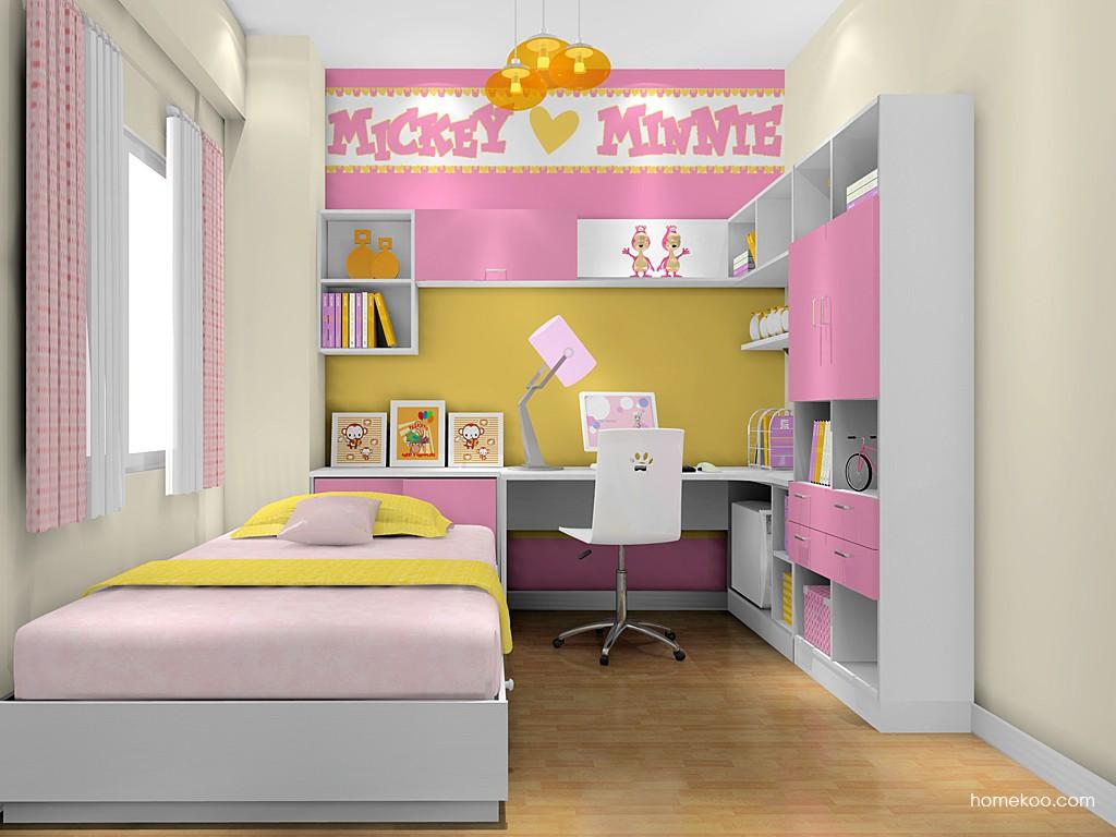 女孩的梦青少年房B17603