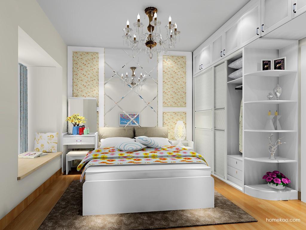 韩式田园卧房家具A17852