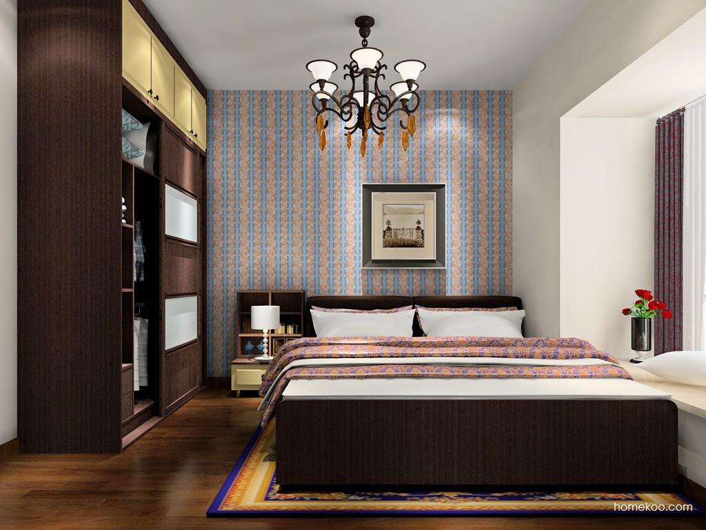 卡罗摩卡卧房家具A17855