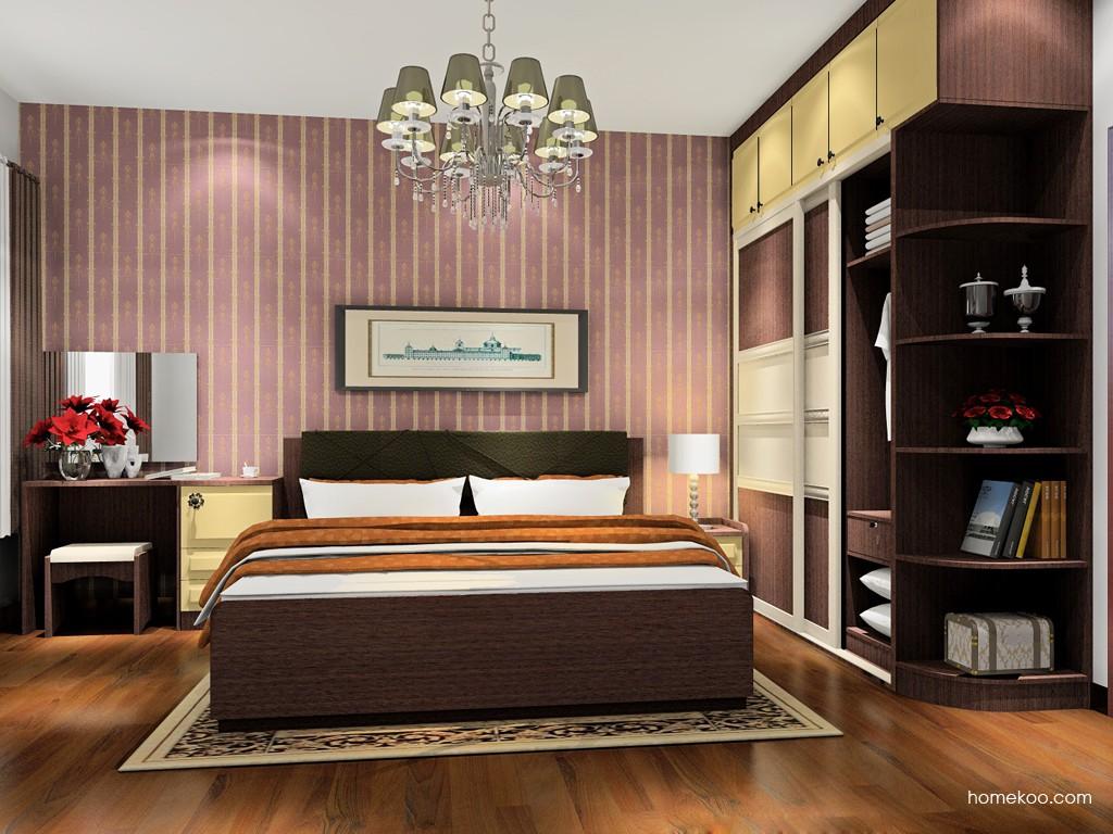 卡罗摩卡卧房家具A17856