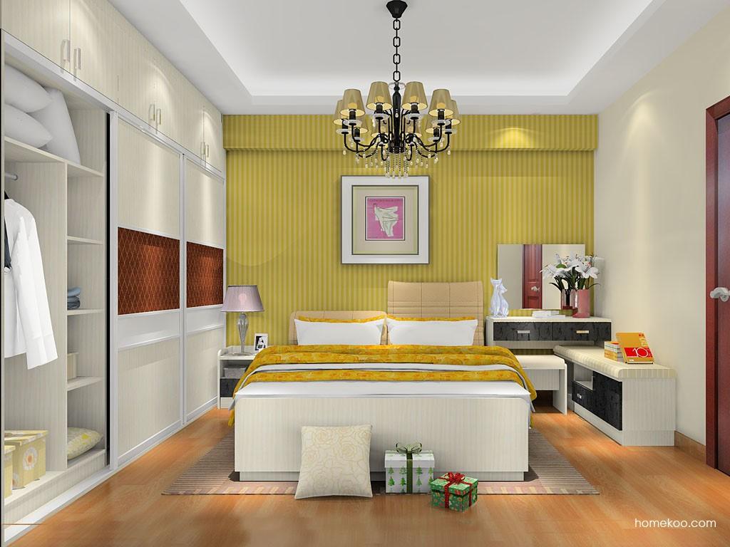 米兰剪影卧房家具A17847