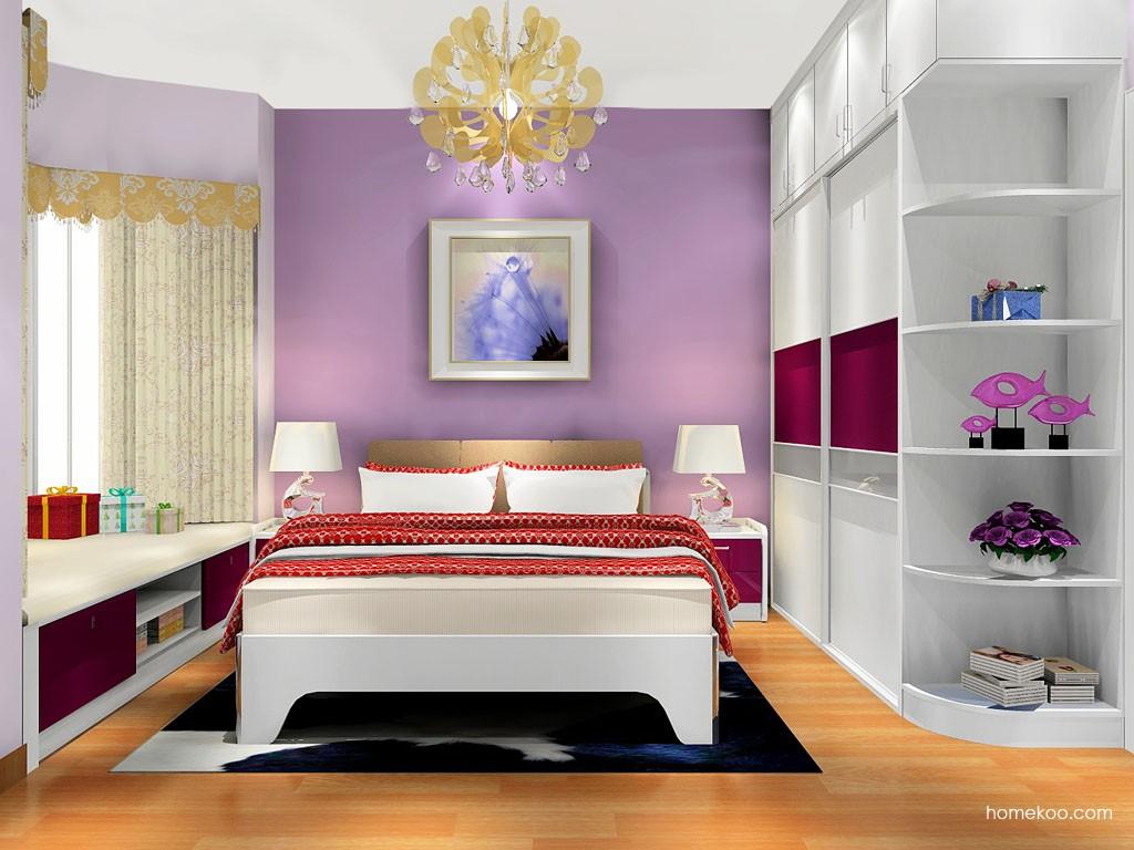 浪漫主义卧房家具A17853